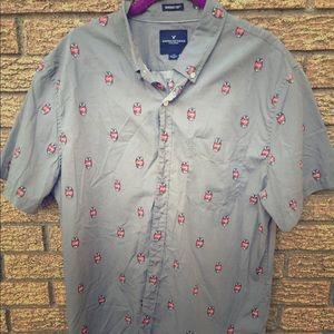 Crushin' it button down shirt